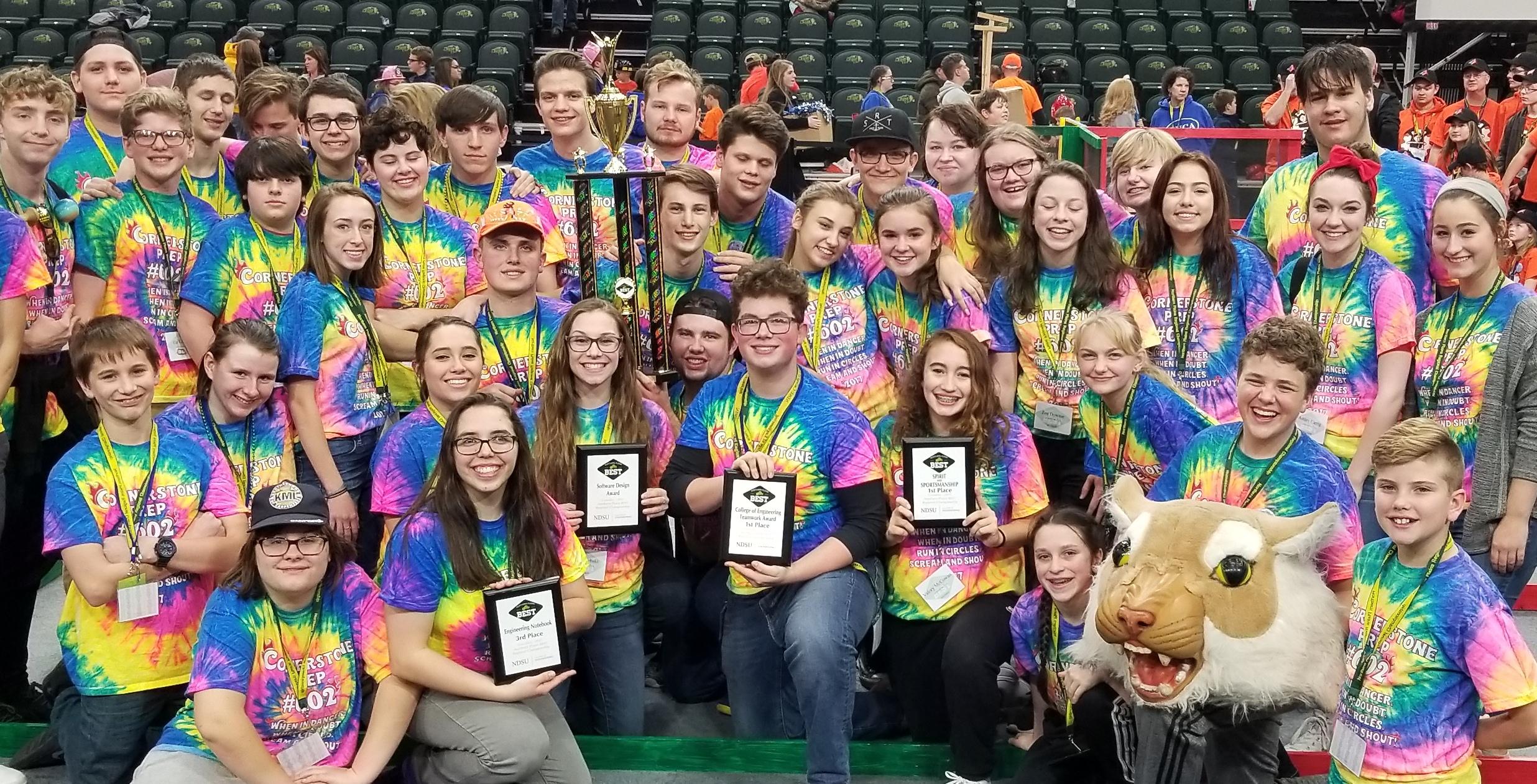National Award winning BEST Robotics Team 2017-18